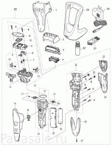 для модели_ES-ST25 электробритвы Panasonic