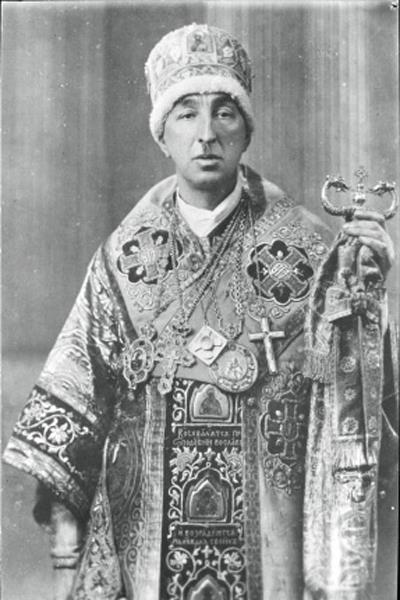 Александр Иванович Введенский (1889–1946), лидер обновленческого движения в 1922–1946 годах / Фото: ПРЕДОСТАВЛЕНО М.ЗОЛОТАРЕВЫМ