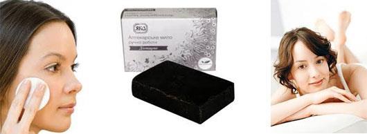 Применение дегтярного мыла