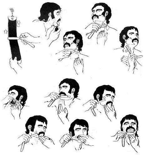 Фото-инструкция как бриться бритвой
