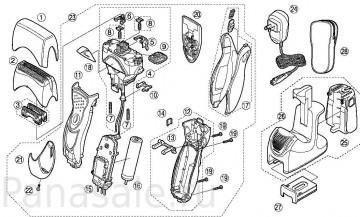 для модели ES8168 электробритва Panasonic