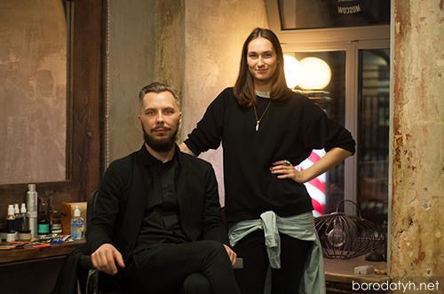 Богдан Канука и Василина Мороз / Барбершоп Щегол
