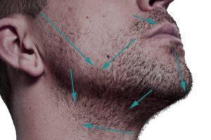 Направление бритья