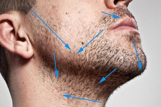 Шаг второй – узнать, в каком направлении растут волосы