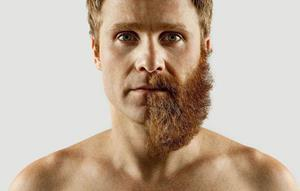 Сбритая борода