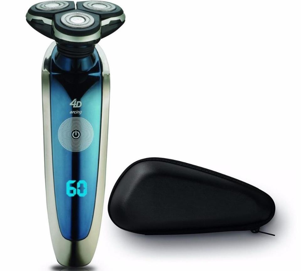 Если вы бреетесь электрической бритвой, в таком случае нужно увлажнить кожу