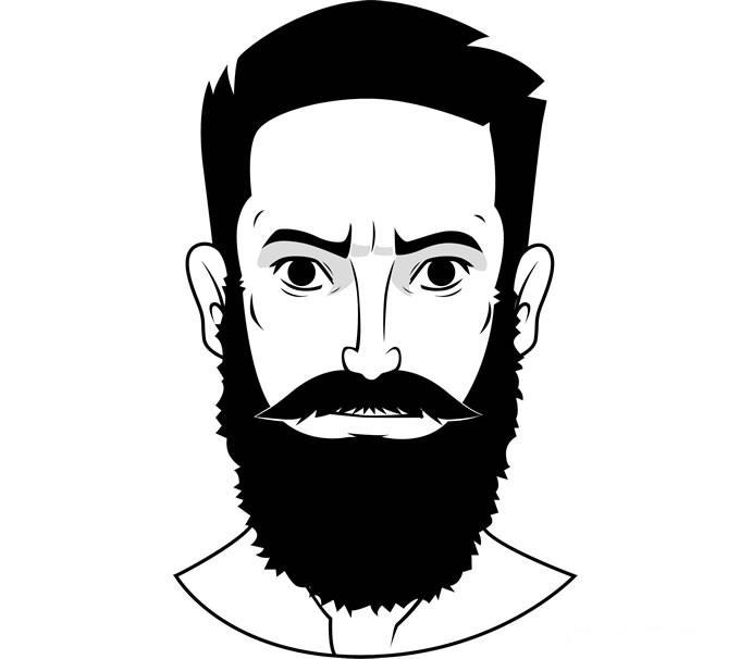 """Стиль бороды """"Полная борода"""""""