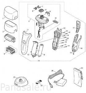 для модели ES-RF41 электробритва Panasonic