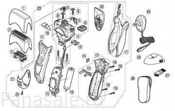 для модели ES8163 электробритвы Panasonic