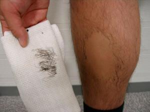 Тестирование мужского крема для депиляции