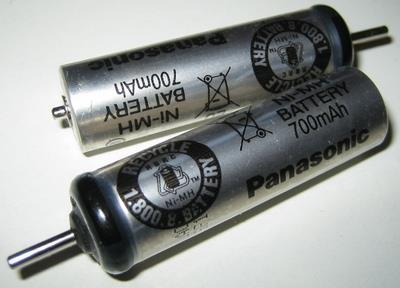 Родные аккумуляторы бритвы
