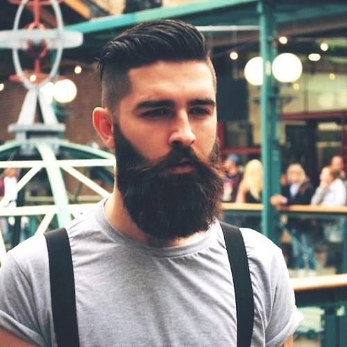 Красивая борода при помощи спрея Professional Hair System