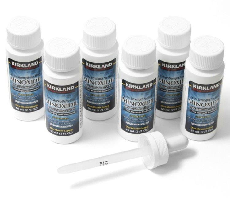 Миноксидил - стимулятор роста бороды