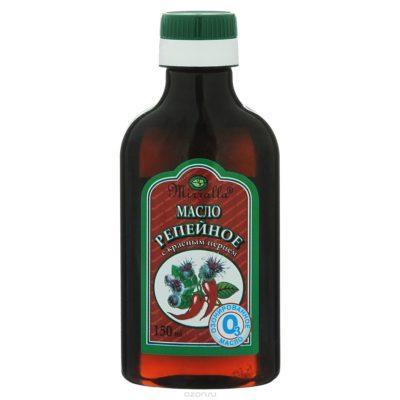 Маски из репейного масла