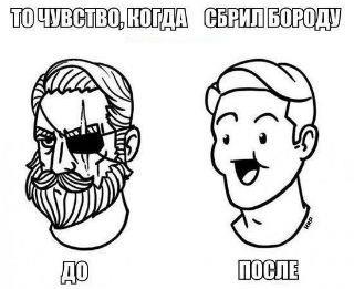 бритьё-бороды