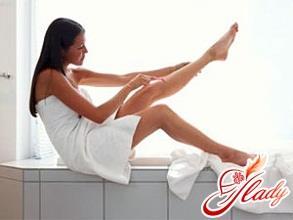 раздражение после бритья на ногах