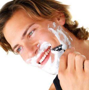 Начать бриться