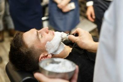 Подготовка щетины к бритью