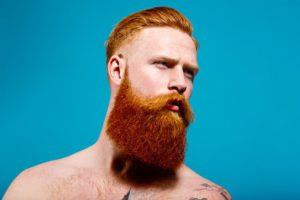 Почему борода рыжая