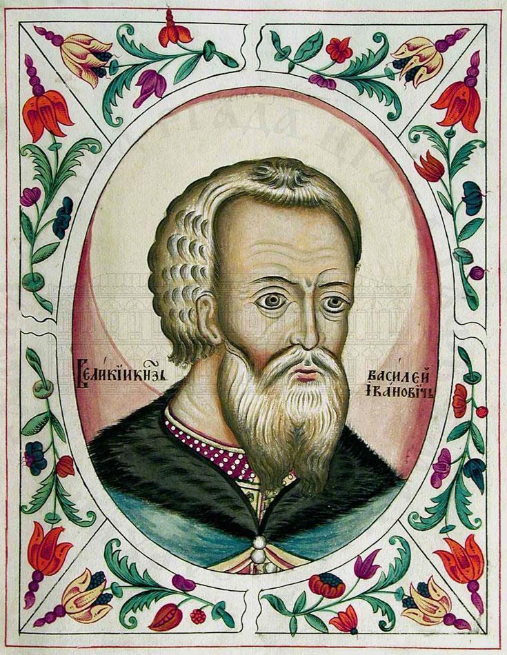 Великий князь Василий III (миниатюра из Царского титулярника)