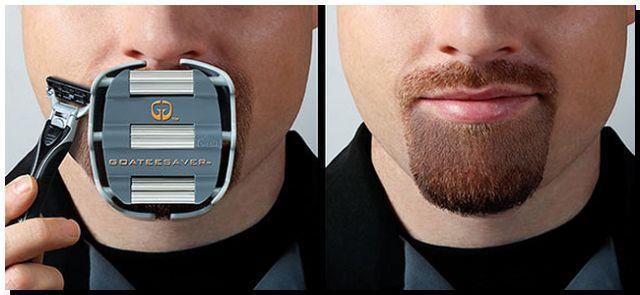 Шаблон для бритья бороды Goateesaver