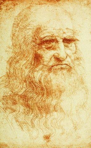 Автопортрет Леонардо да Винчи
