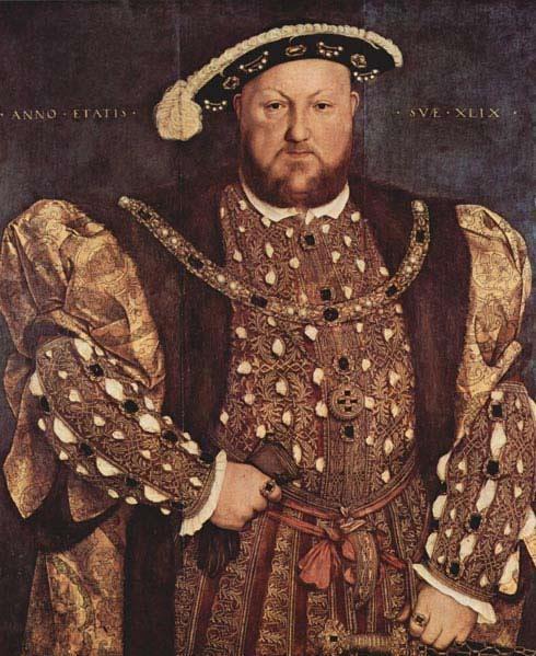 Генрих VIII ввёл налог на бороду в Англии в 1535 году.