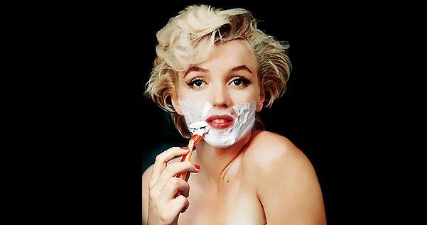 Бьюти-тренд: с пеной у рта, или Почему девушки бреют лицо