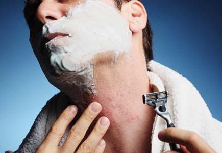 Прыщи и раздражение после бритья