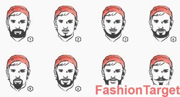 Виды стрижки для бороды фото (борода, стрижки для бороды, Мужская мода)