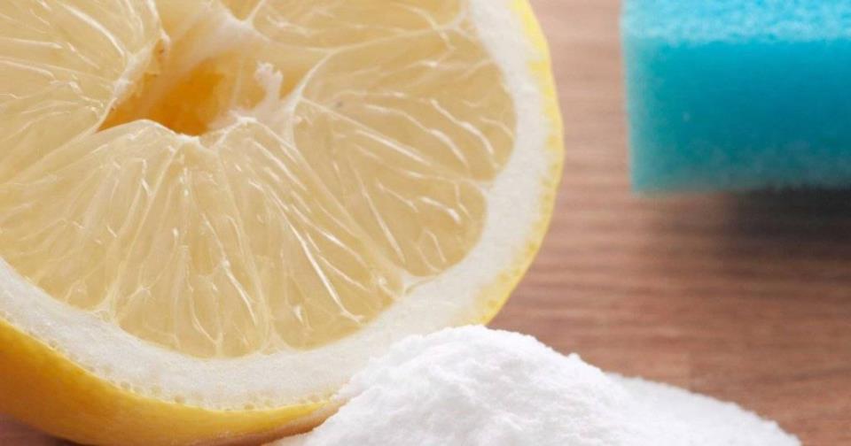 маска из пены для бритья и соды