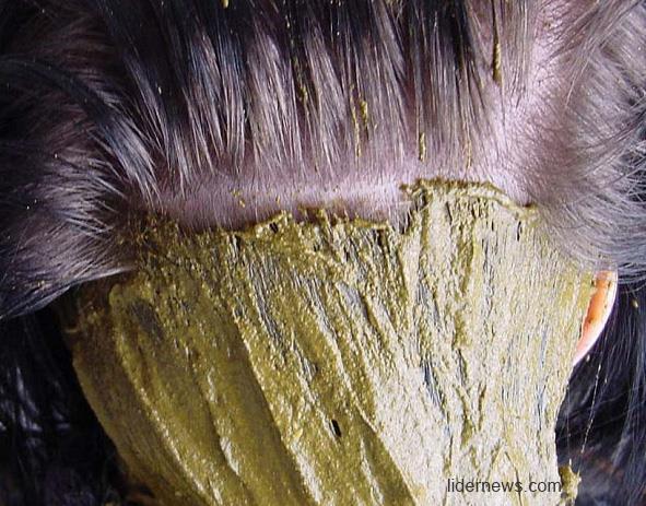 Окрашивание волос хной и басмой: