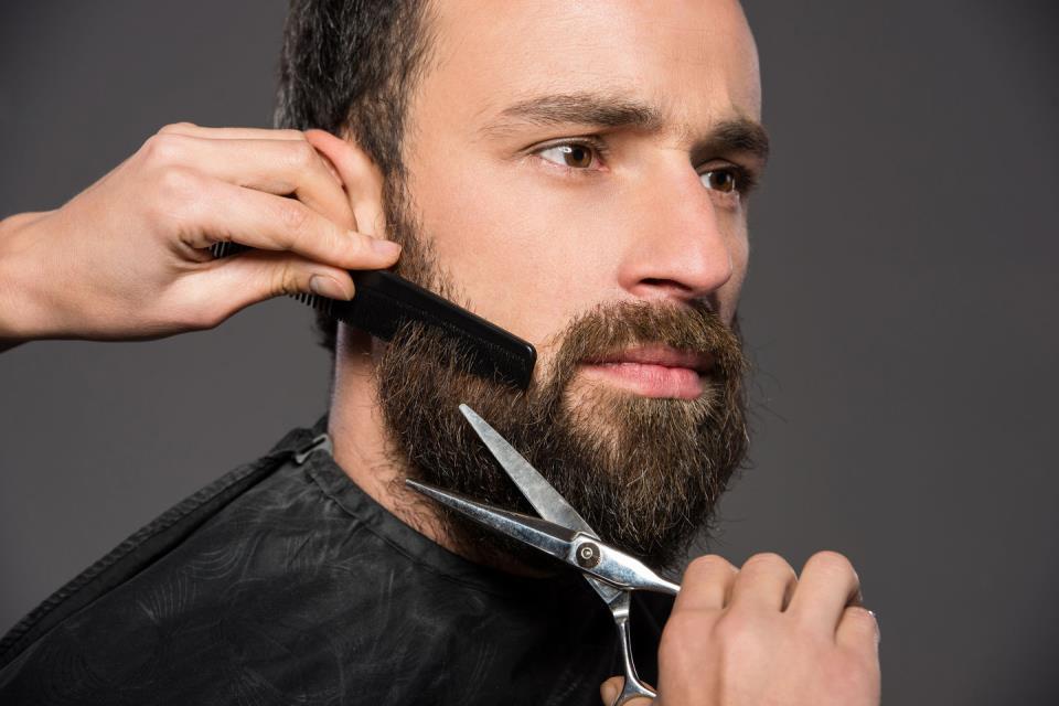 Пример стрижки бороды