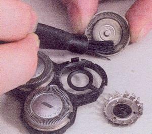 Почистите диски и ножи