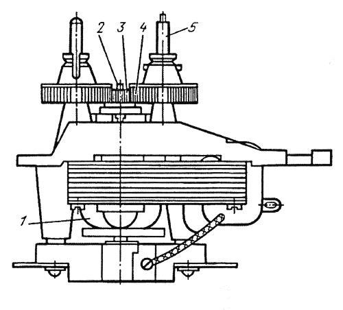 Электродвигатель бритвы «Харьков-6»