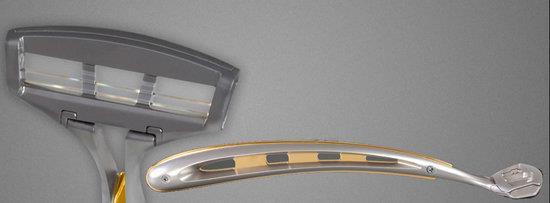 Кромка лезвия в станке Zarifo Gold в 5 тыс. раз тоньше человеческого волоса