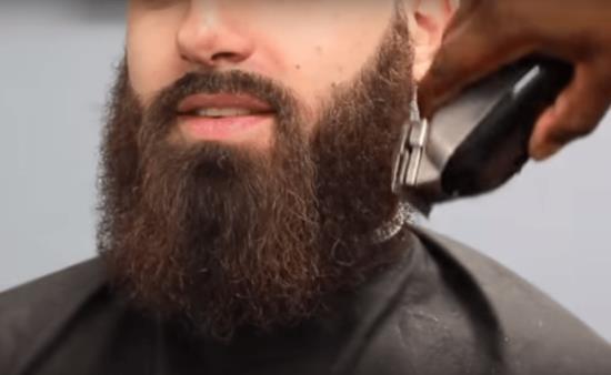 Обработка длинной бороды