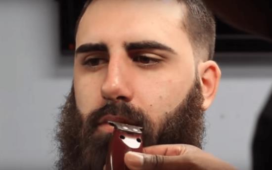 Обработка усов