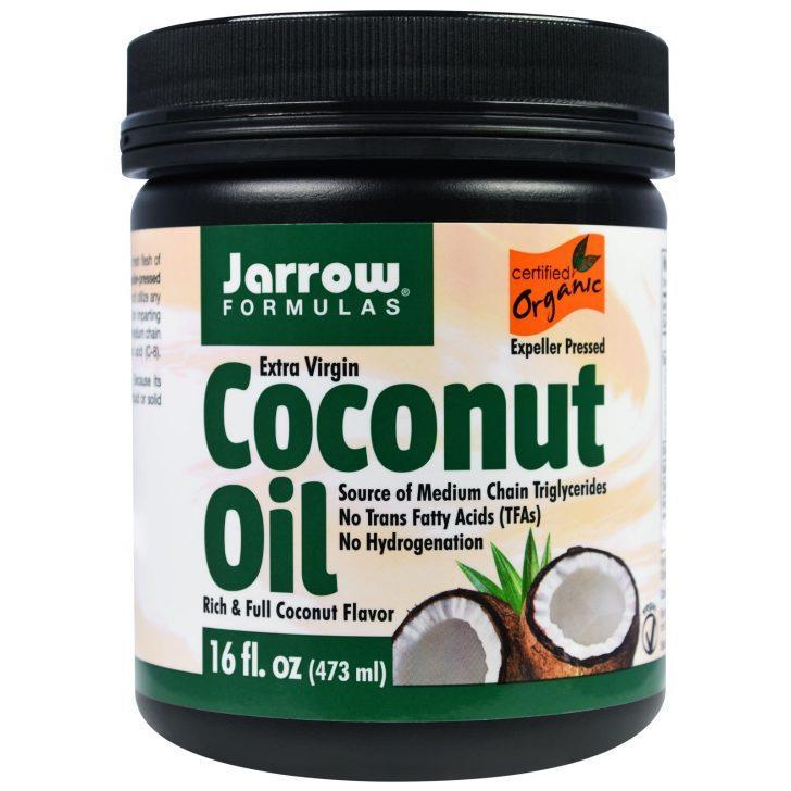 органическое кокосовое масло Extra Virgin от Jarrow Formulas (473 г)
