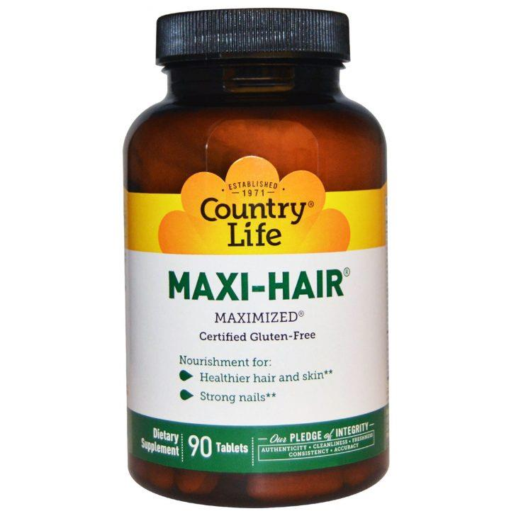 Maxi-Hair от Country Life в таблетках (90 штук)