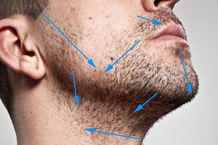 Как должна двигаться бритва