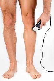 Бритье ног электробритвой
