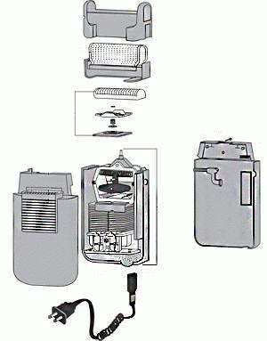 Устройство электробритвы