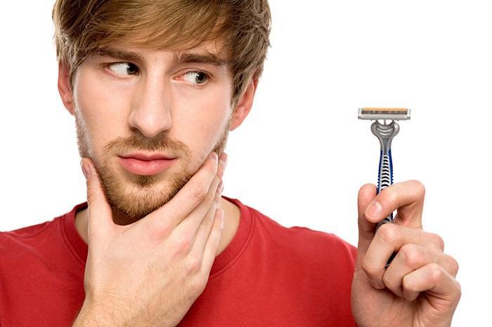 почему борода не растет