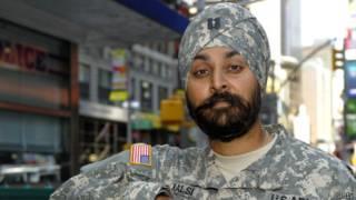 Сикх в американской армии