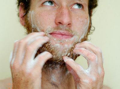 как мыть бороду