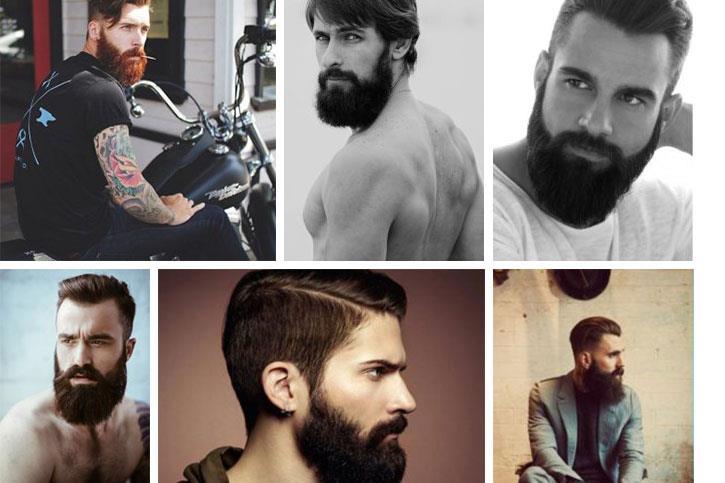 оформлению бороды в салоне и дома