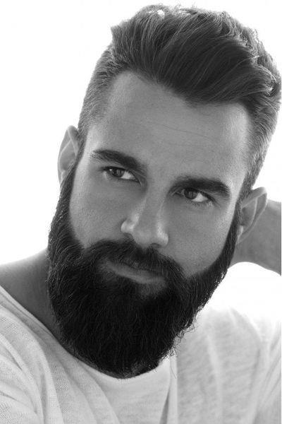 Густая борода