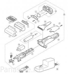 для модели ES-SA40 электробритва Panasonic