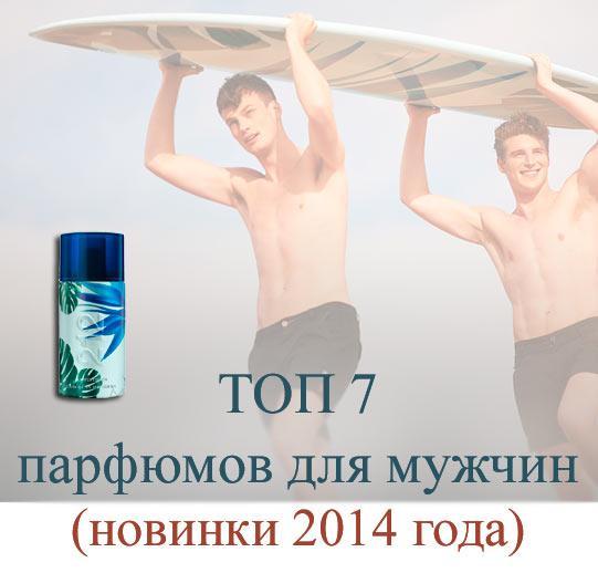 новинки 2014 мужской парфюмерии, какие духи купить для мужчин, мужская туалетная вода купить в Киеве с доставкой по Украине
